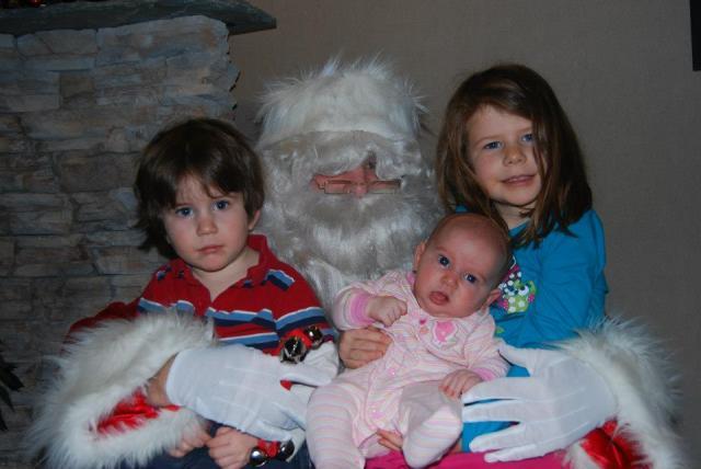 Santa & the kids