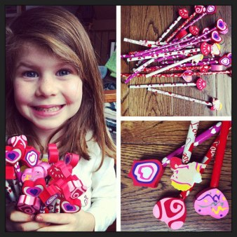 Caleigh's V Day gifts to her classmates