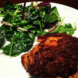 Butter Chicken w/ Side Salad