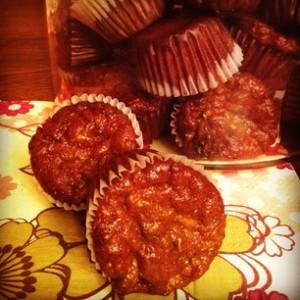Mini Morning Glory Muffins
