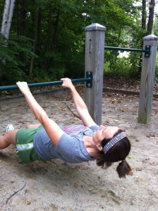 Incline Pull Ups