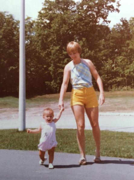 Mom & me in 1979.